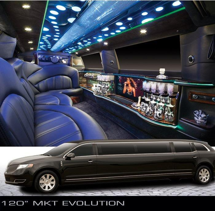 Lincoln MKT Limo Interior